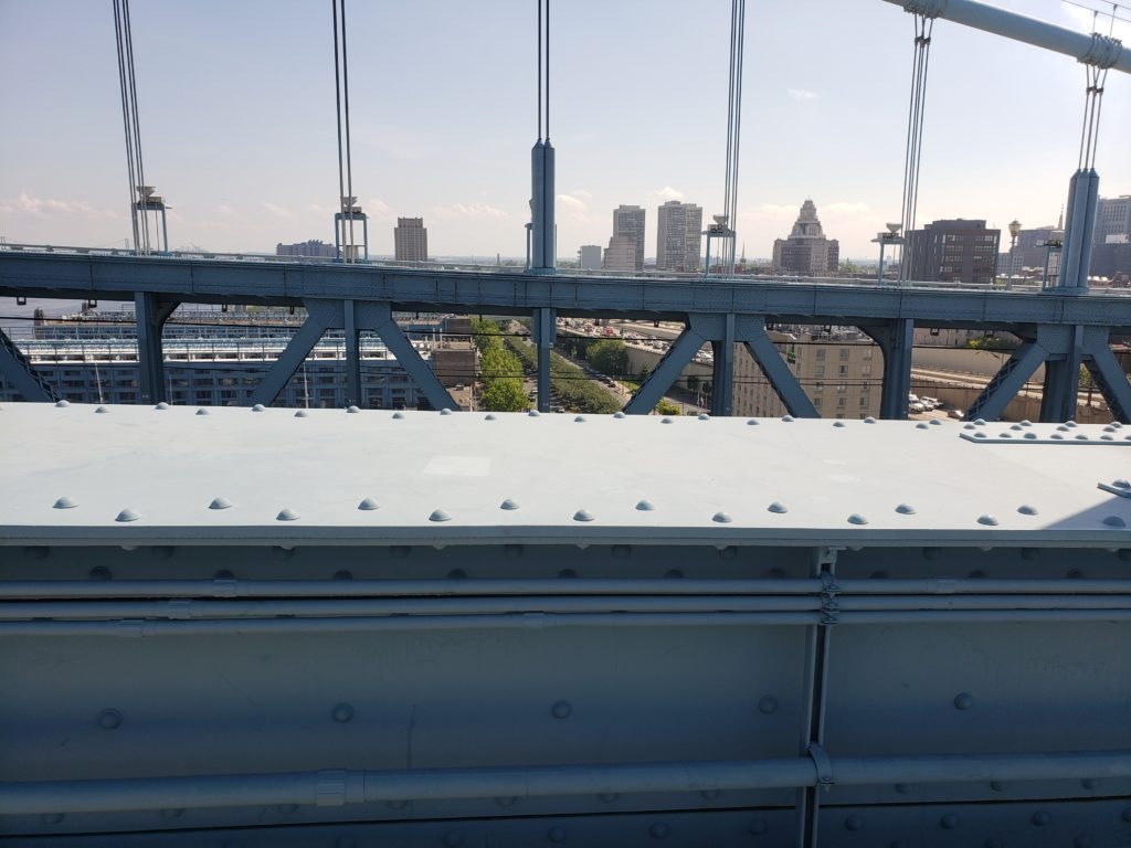 Ben Franklin Bridge walk 3